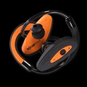 auriculares boompods sportpods naranja bluetooth