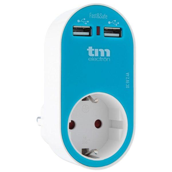 cargador tm tmuad114a dual usb