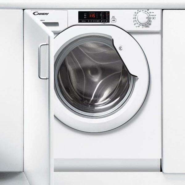 lavadora integrable candy cbwm814ds 8kg