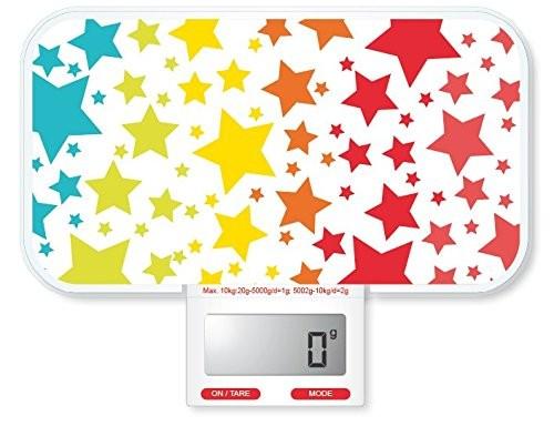 báscula de cocina pebbly 88-444s star rainbow