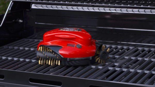 robot limpiaparrillas smartbot grillbot rojo