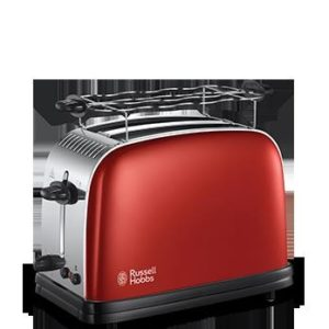 tostador russell hobbs colours plus+ rojo