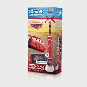 cepillo dental oral-b stages cars + estuche