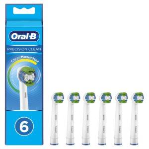 cabezal oral-b eb 20-6 precision clean pack 6 uds