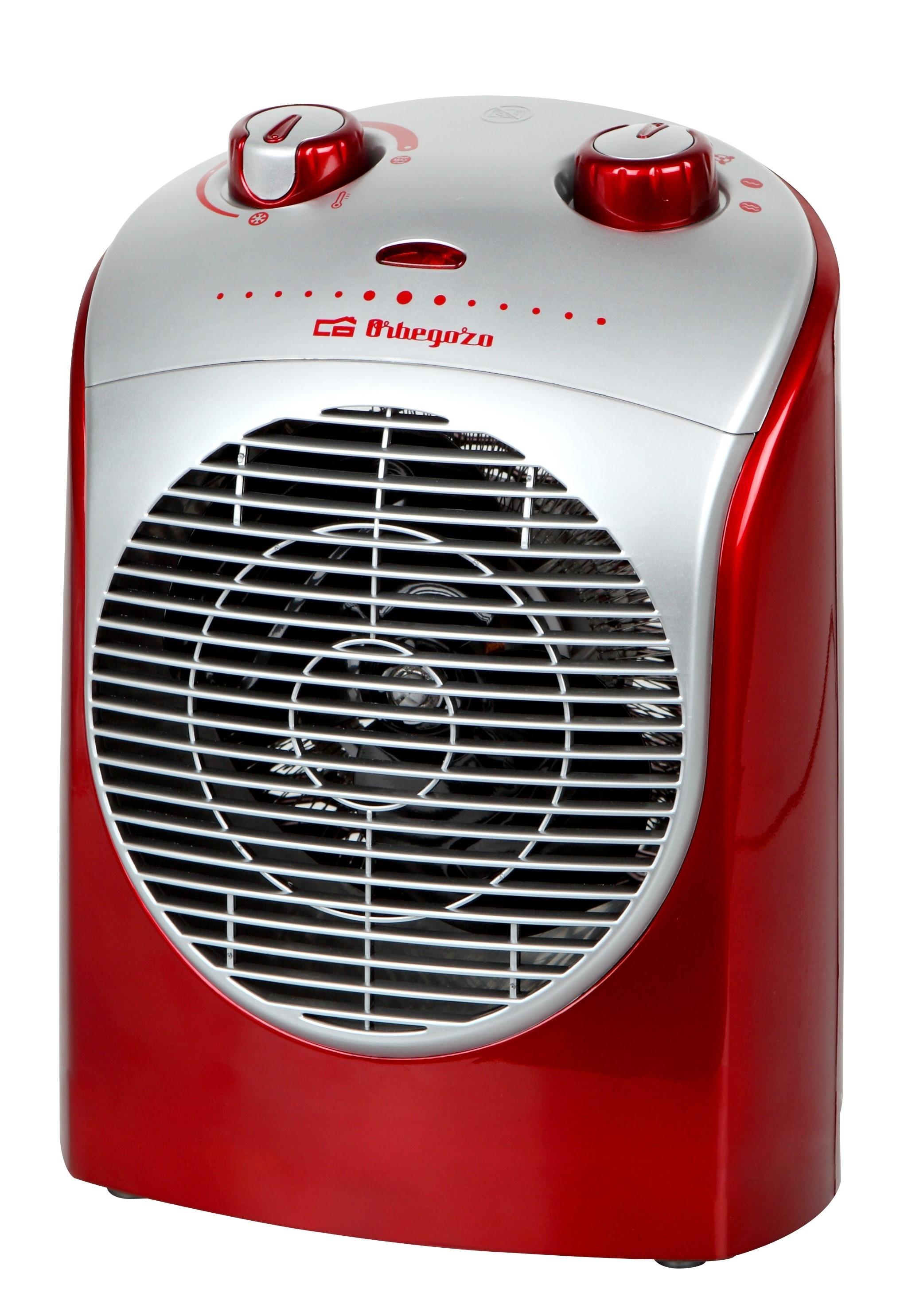 calefactor orbegozo fh5026 rojo