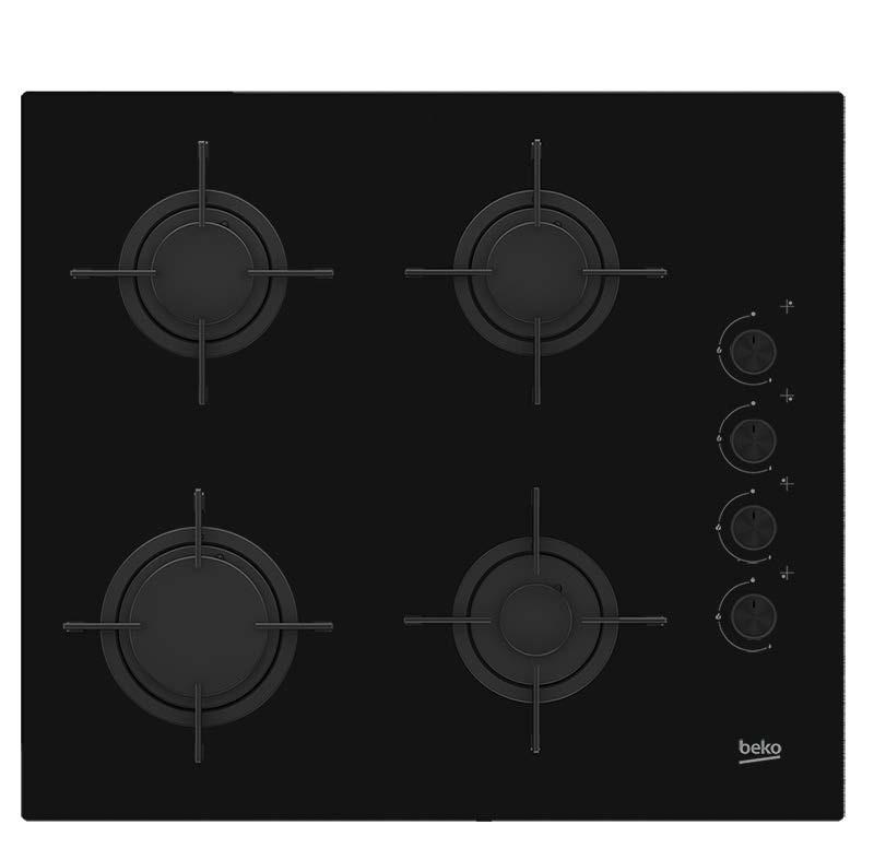 placa gas beko hilg64120s 4f negro
