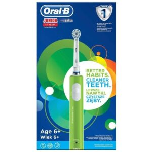 cepillo dental oral-b d16 junior verde