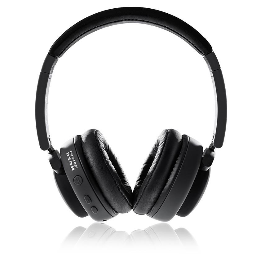 auriculares diadema boompods hush gris wireless