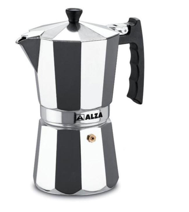 cafetera italiana alza luxe 9 tazas