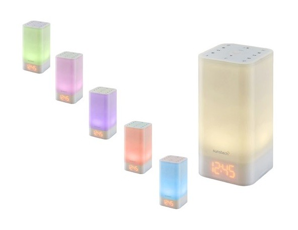 radio despertador sunstech frlamp2 luz