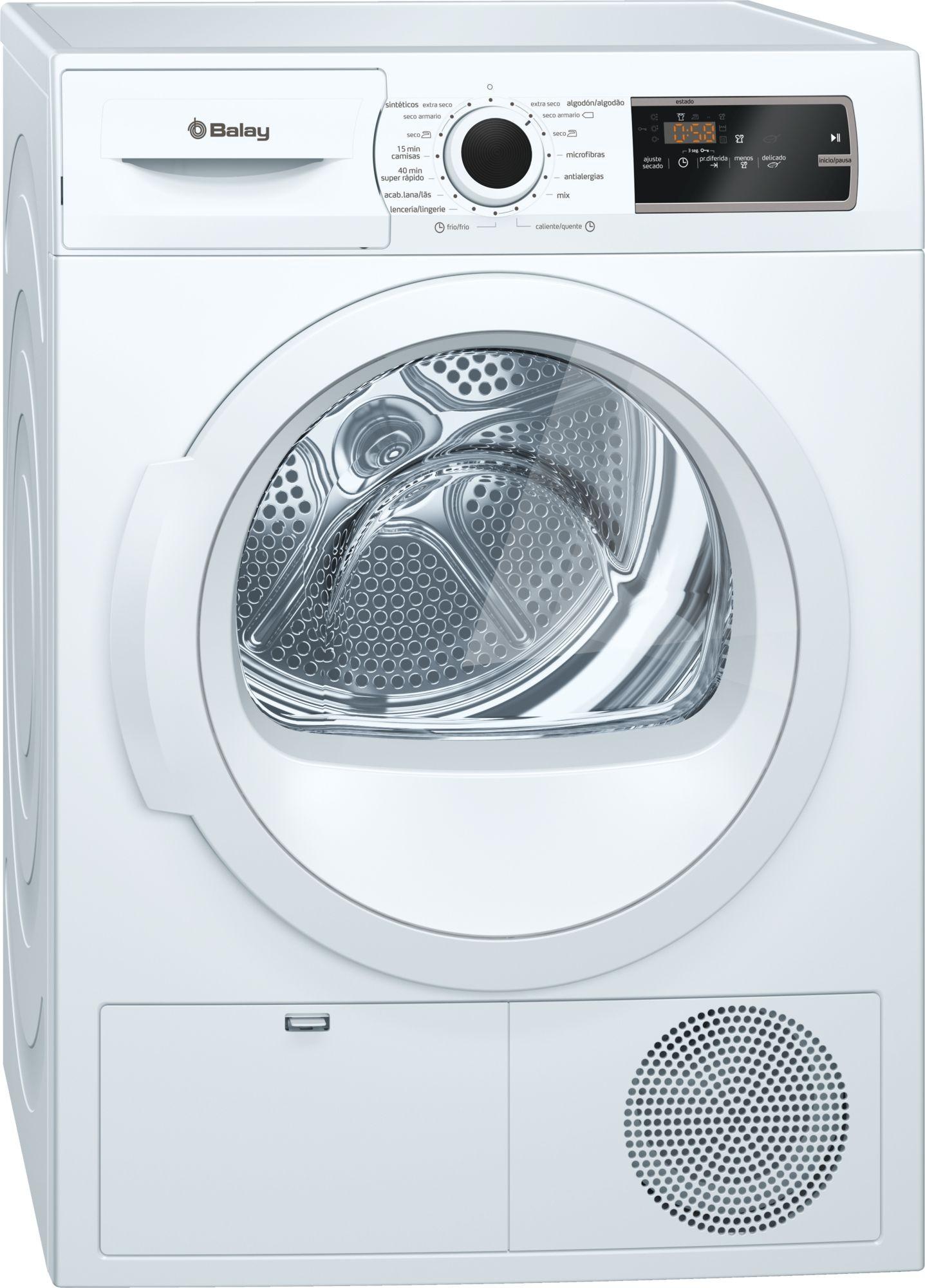 secadora balay 3sb988ba blanco 8kg
