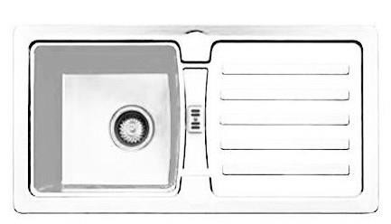 fregadero mepamsa block 1.1 blanco