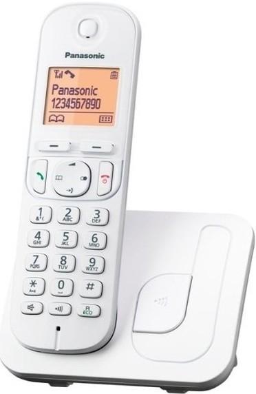 teléfono panasonic kxtgc210spw blanco