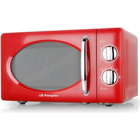 microondas orbegozo mi2020 rojo