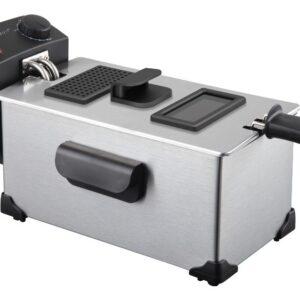 freidora nevir nvr6522f 3l inox