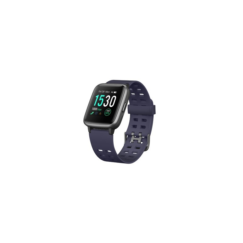 smartwatch sunstech fitlifewatch azul