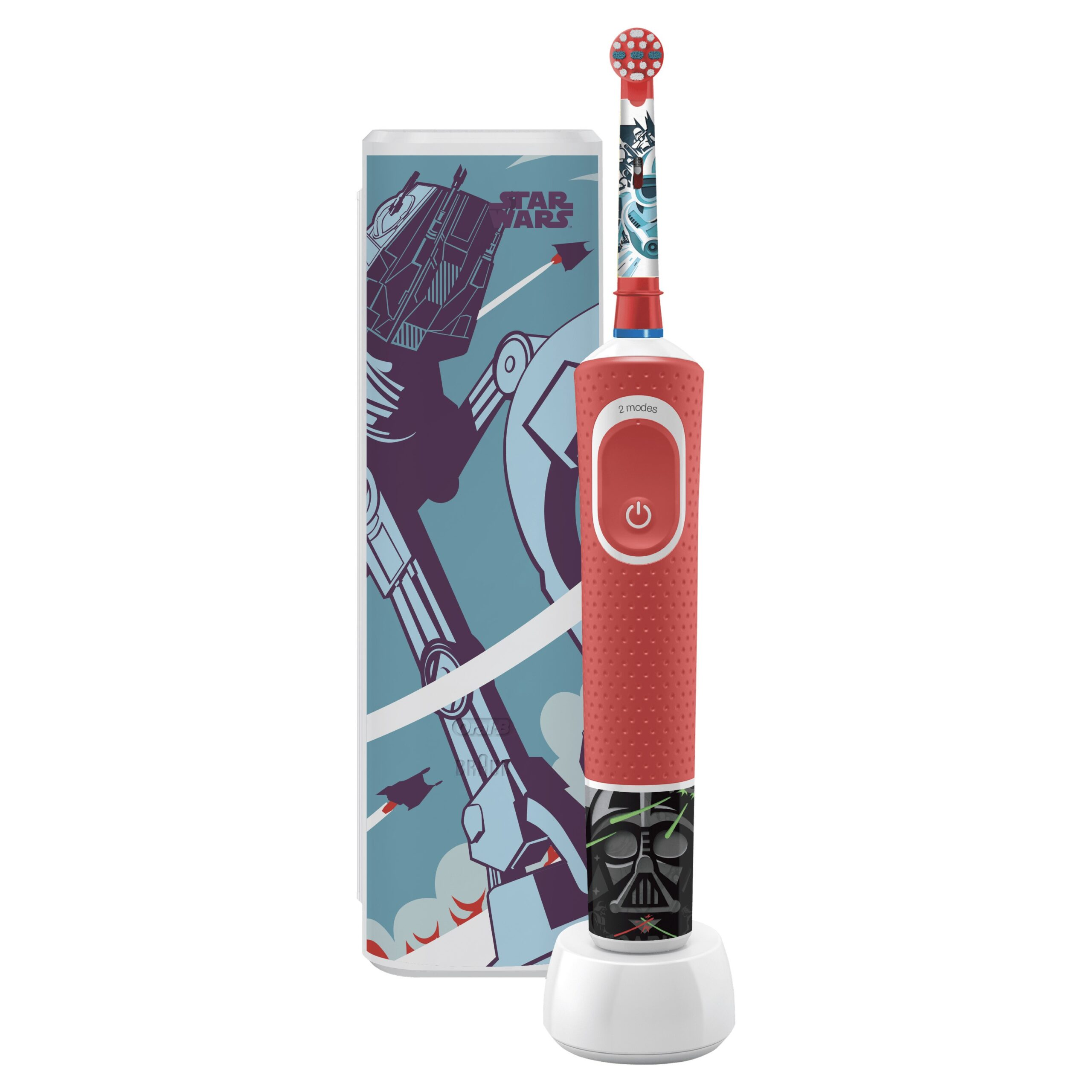 cepillo dental oral-b d100 kids star wars+estuche