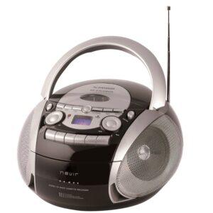 radiocassette cd nevir nvr-482ucm plata usb