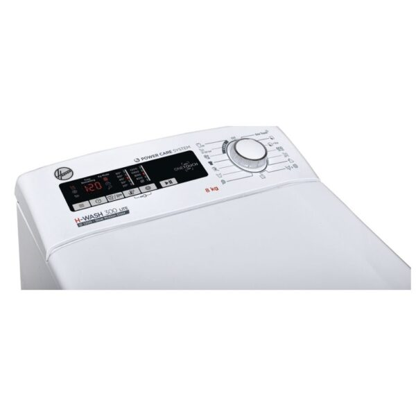lavadora carga superior hoover h3tm 28tace/1-s 8kg