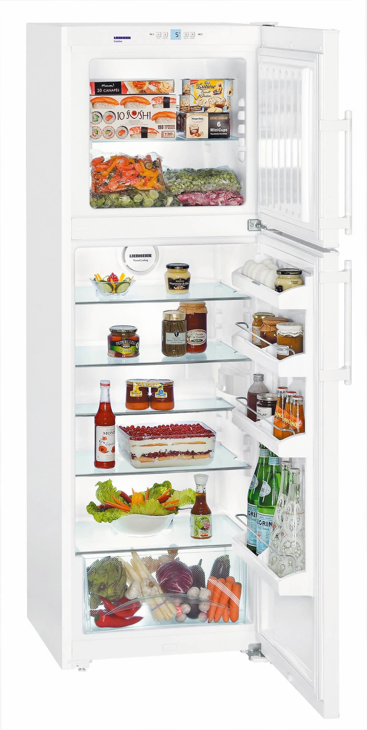 frigorífico 2p. liebherr ctp3316 blanco 1.76m