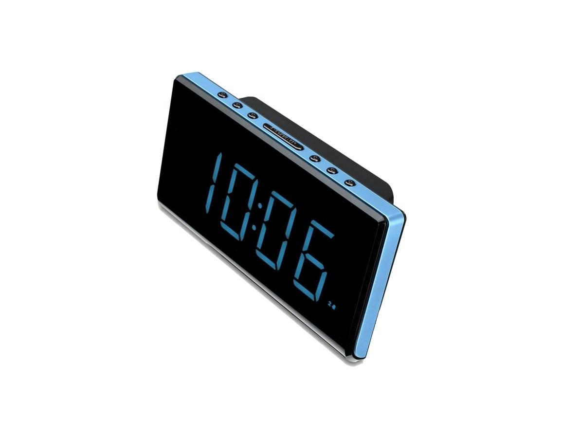 radio despertador sunstech frd28bl azul dual