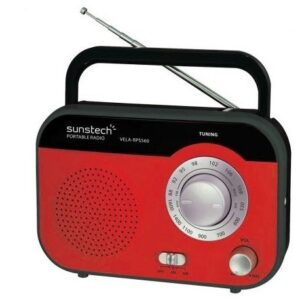radio sunstech rps560 rojo