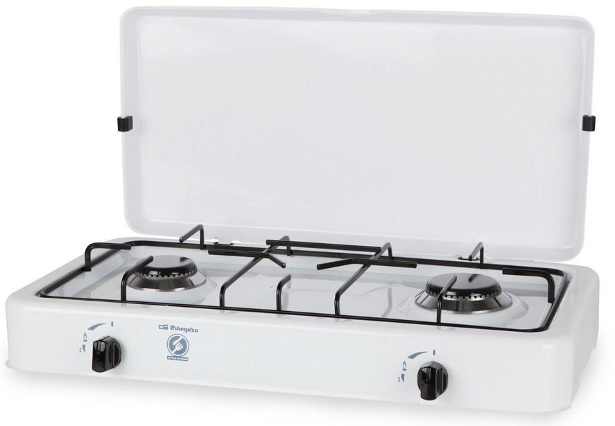 hornillo de gas orbegozo fo2350 2 fuegos