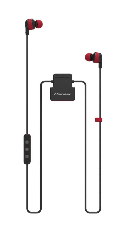 auriculares pioneer secl5btr rojo