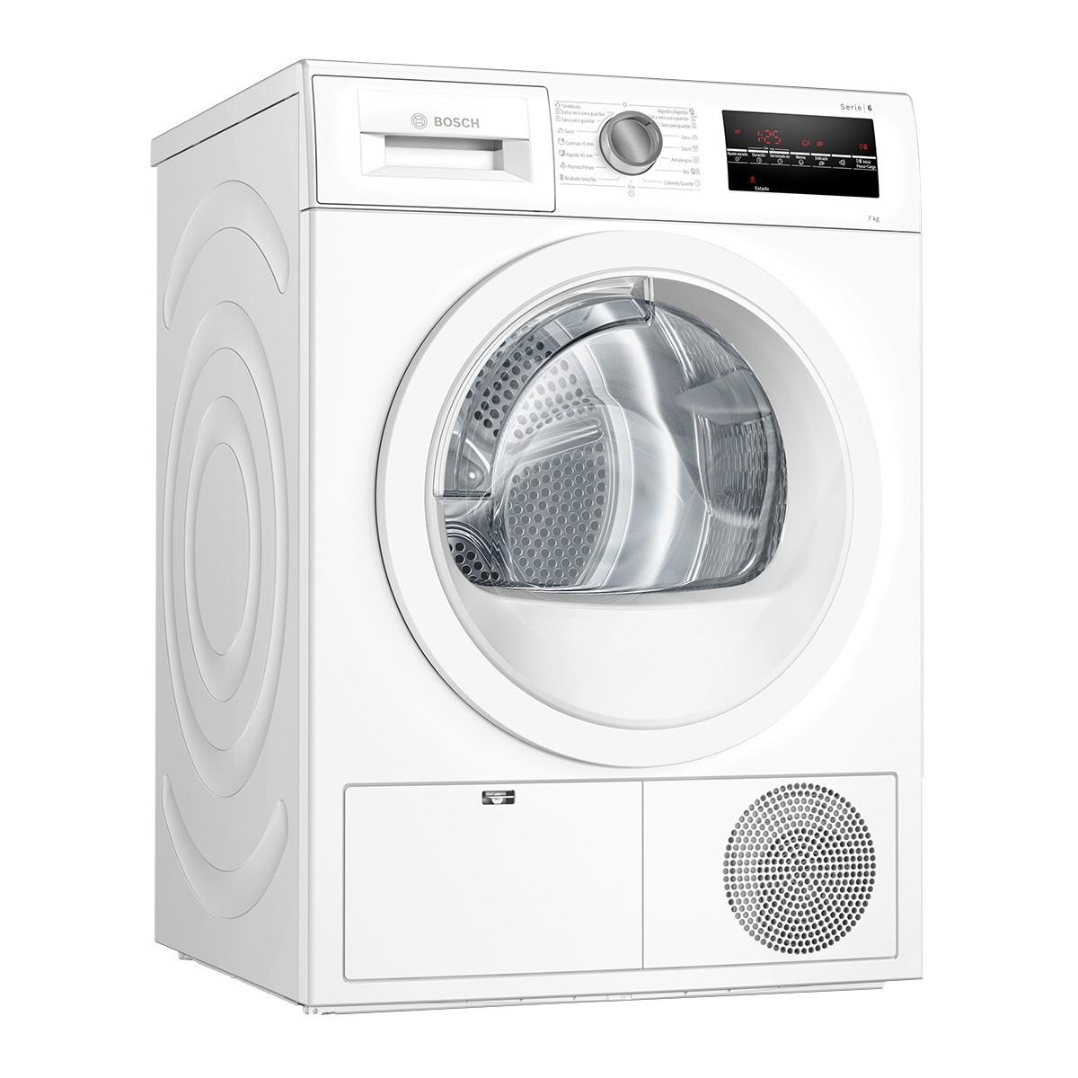 secadora bosch wtg86263es blanco 7kg