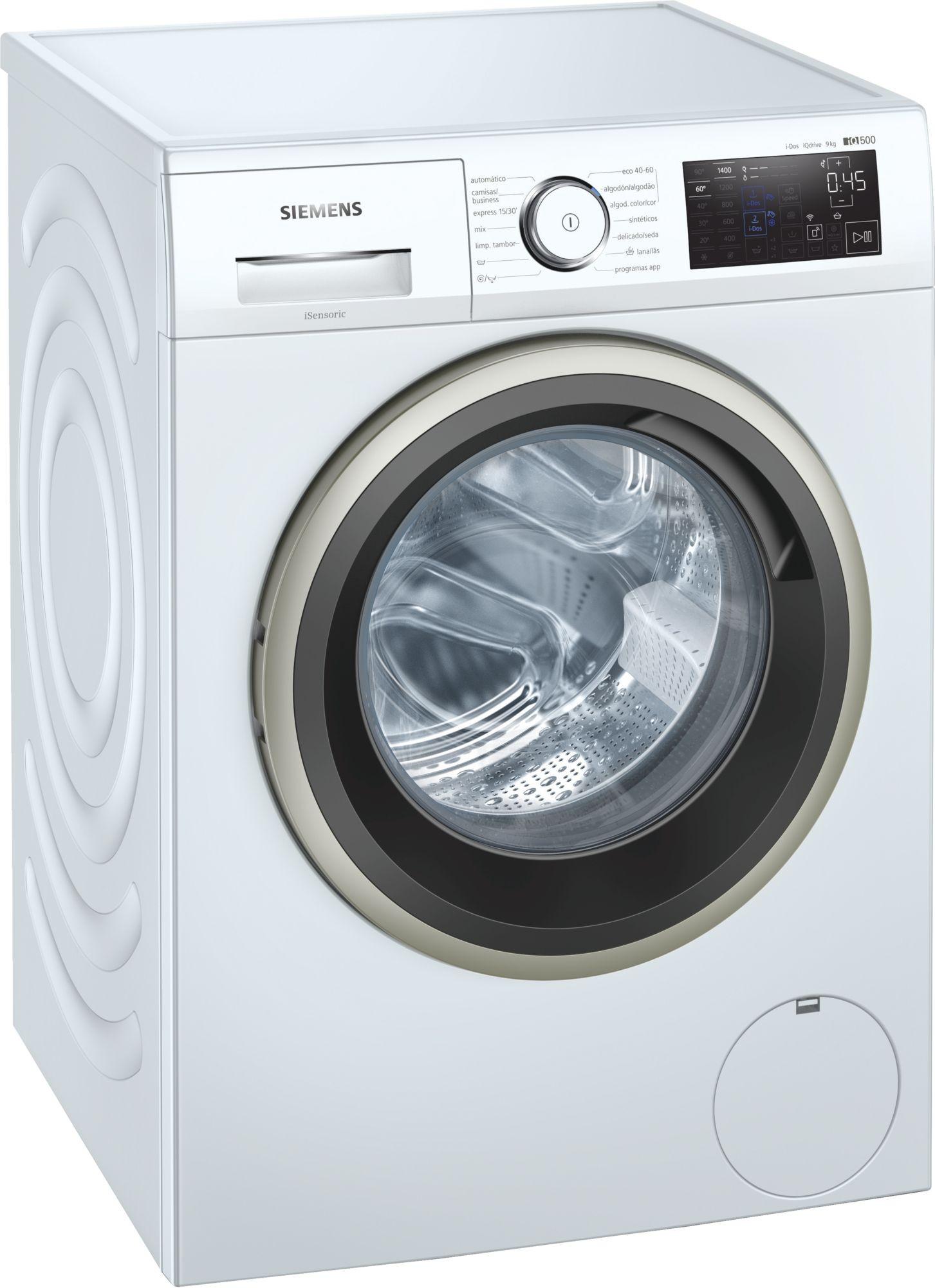 lavadora siemens wm14uph1es blanco 9kg homeconnect