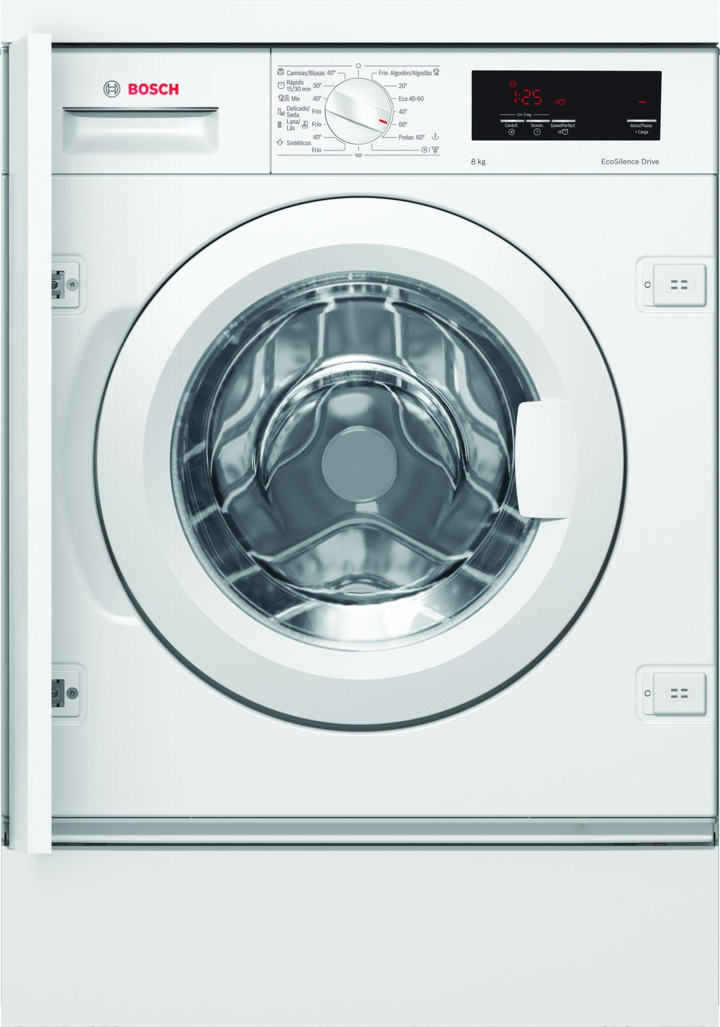 lavadora integrable bosch wiw28301es 8kg