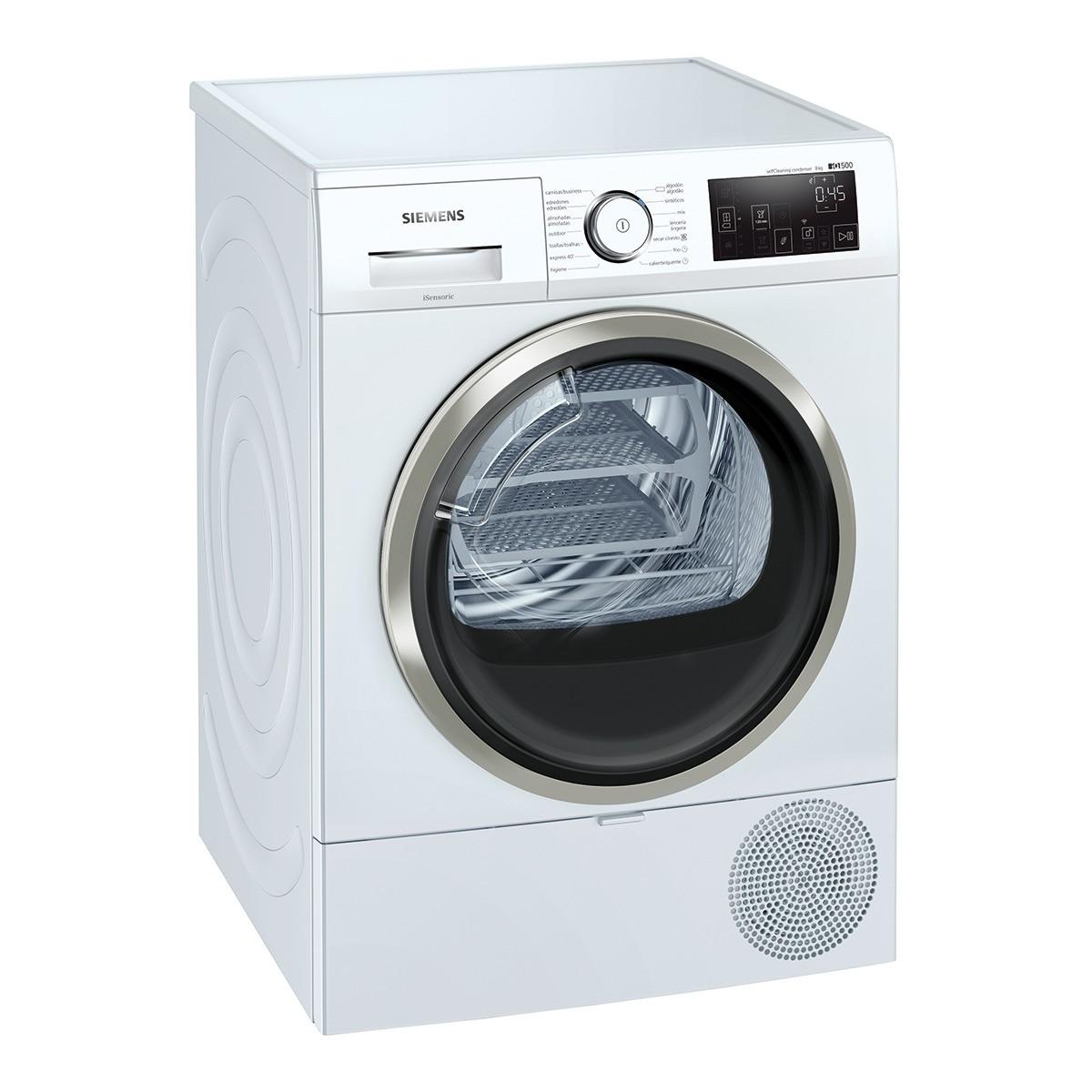 secadora siemens wt47urh1es 8kg blanco