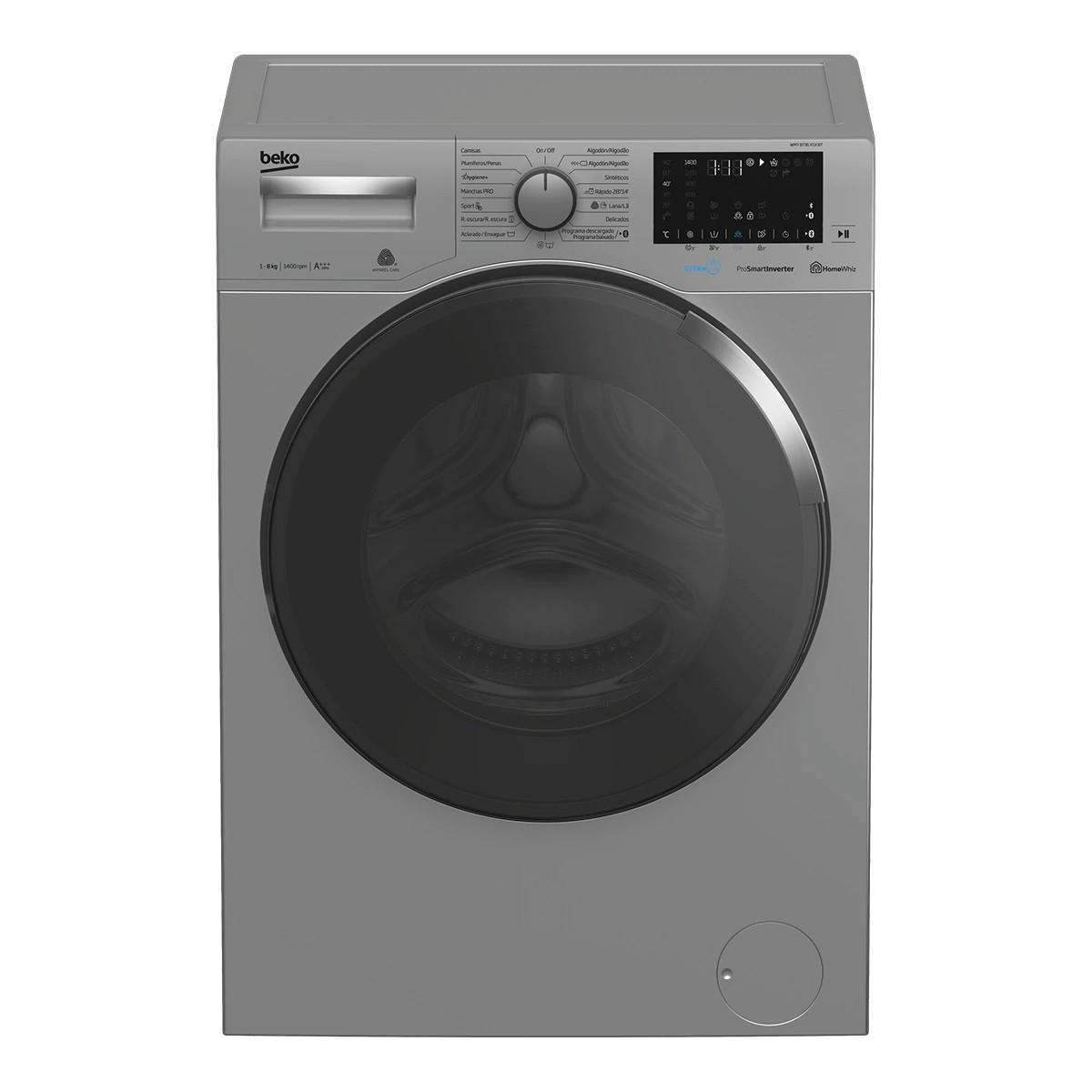 lavadora beko wmy8736xsxbt inox 8kg
