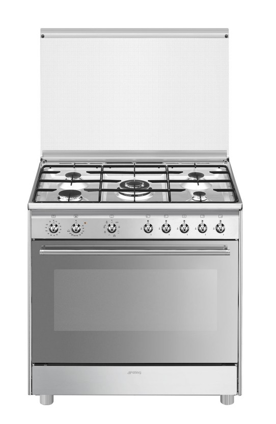 cocina gas smeg sx91mds9 90cm 5f inox