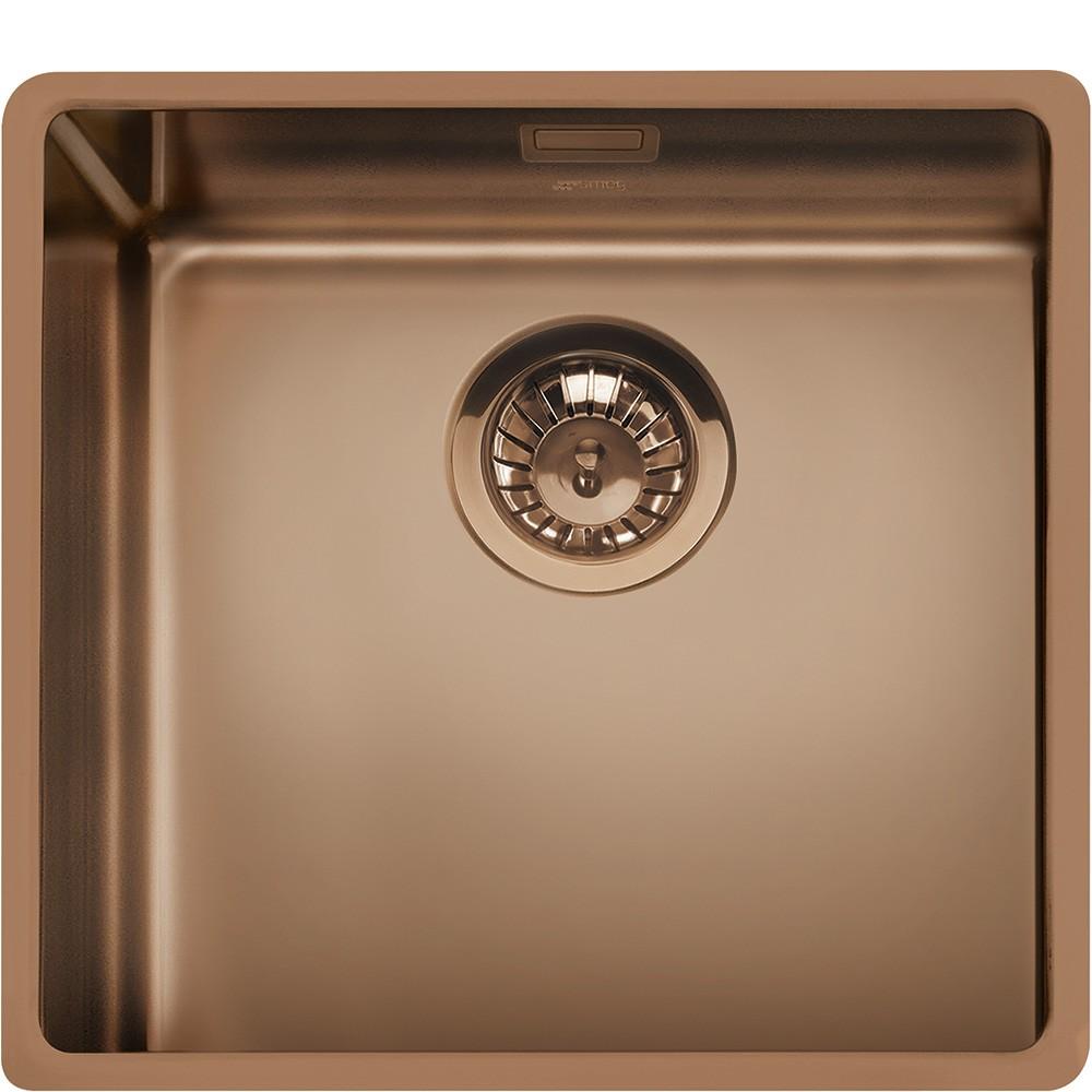 fregadero smeg vstr50cux cobre