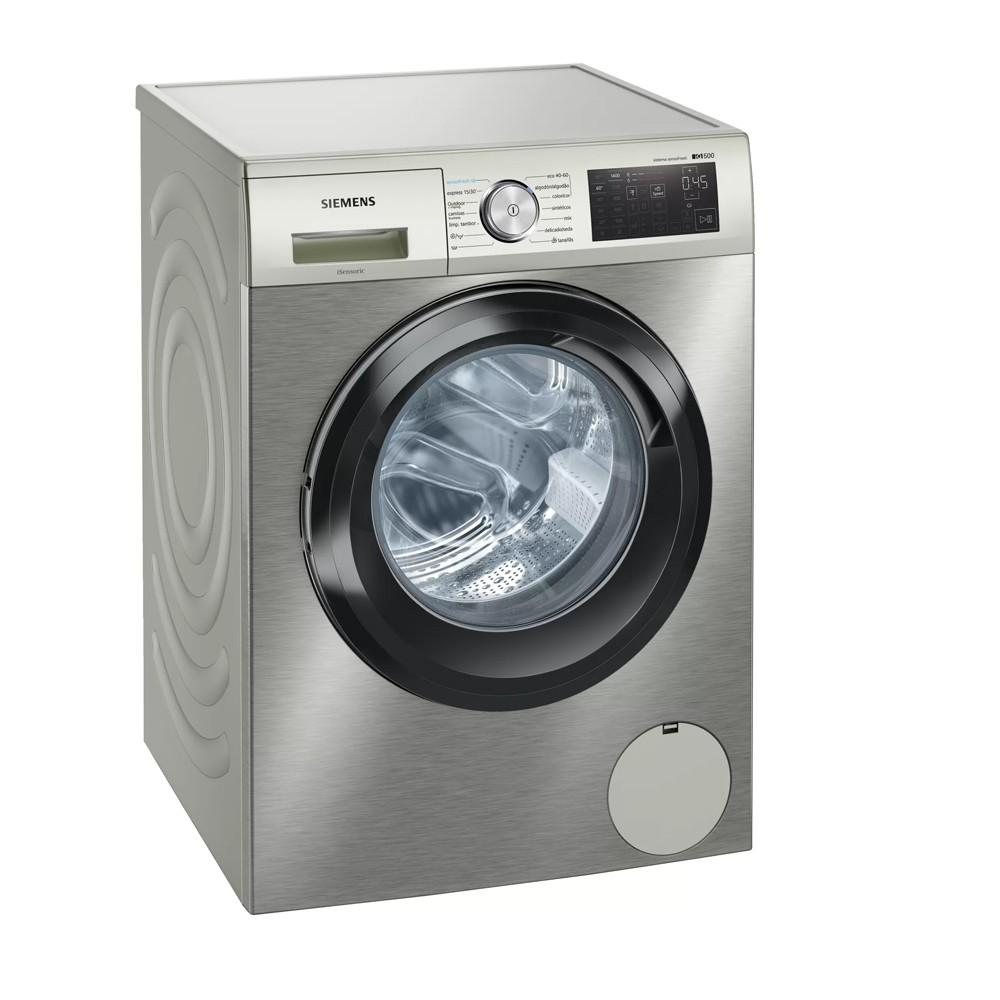 lavadora siemens wm14uq9xes acero mate 9kg