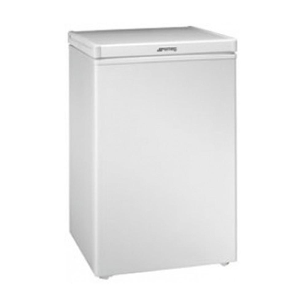 congelador arcón smeg co103f blanco 54cm 104l