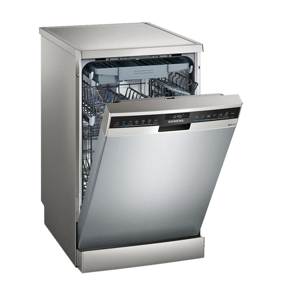 lavavajillas siemens sr23hi65me inox 45cm 3ªband