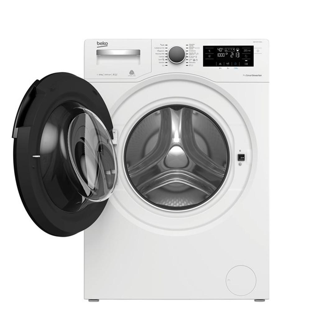 lavadora beko wqp 10747 xsw dr bco 10kg aquatech