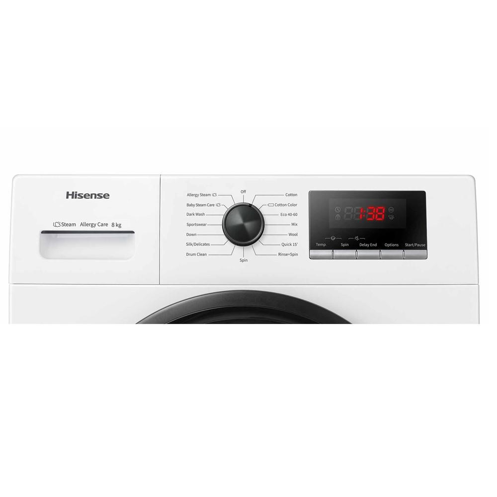 lavadora hisense wfpv8012em blanco 8kg