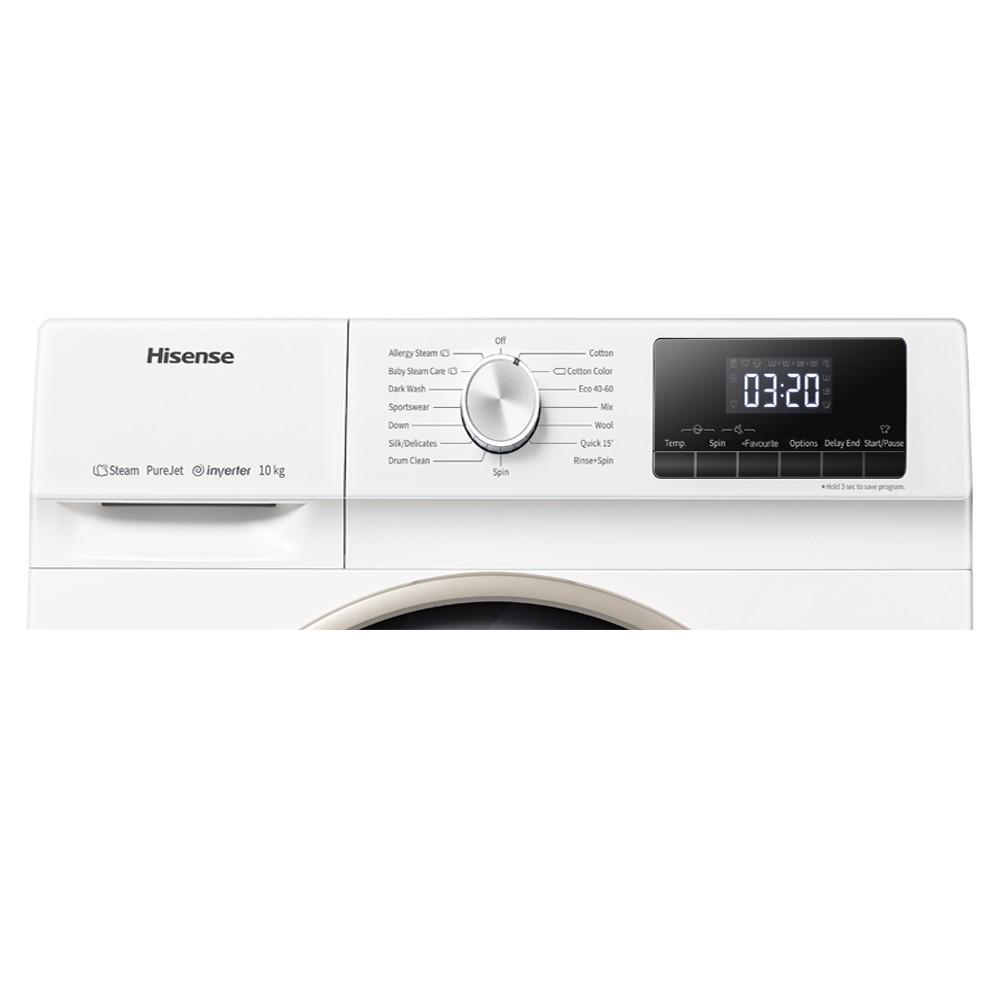 lavadora hisense wfqy1014evjm blanco 10kg