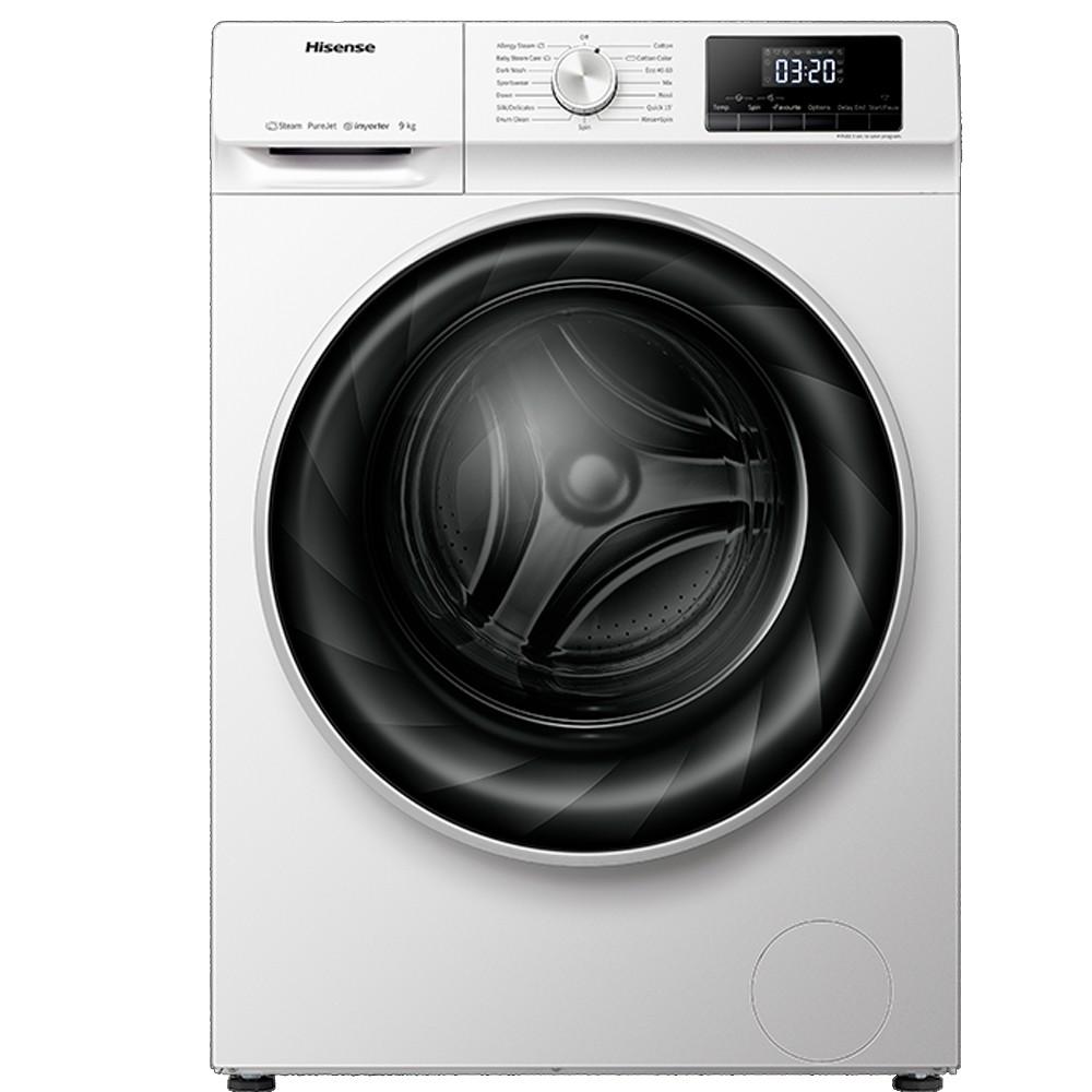 lavadora hisense wfqy9014evjm blanco 9kg