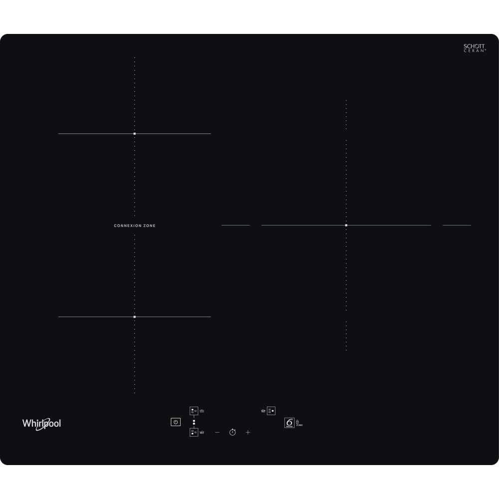 placa inducción whirlpool wb q4860 ne 3f