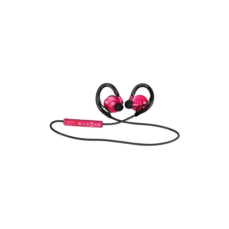 auricular sunstech hpsbt230 rosa bt
