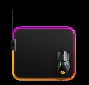 Steelseries QcK Prism Cloth Medium Alfombrilla de ratón para juegos Negro