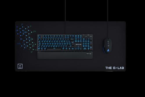 The G-Lab Pad Yttrium Alfombrilla de ratón para juegos Negro