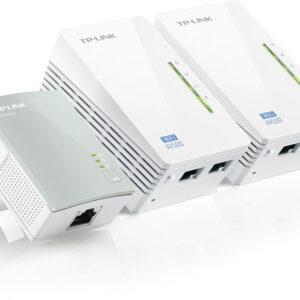 ADAPTADOR PLC TP-LINK AV500 TL-WPA4220T KIT 3UDS