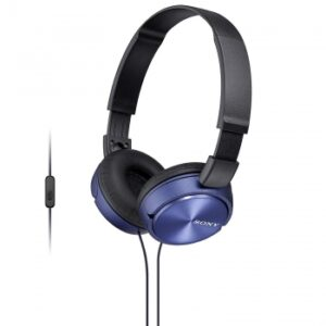 Auriculares Sony MDRZX310APL/ con microfono/ Jack 3.5/ Azules