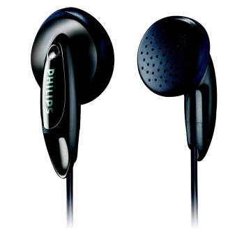 Auriculares Intrauditivos Philips SHE1350 Jack 3.5/ Negros