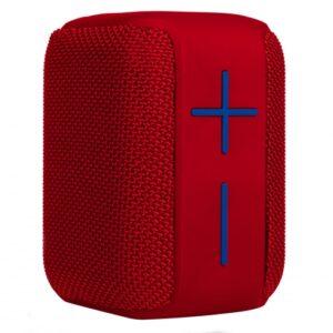 Altavoz con Bluetooth NGS Roller Coasírer/ 10W/ 1.0/ Rojo